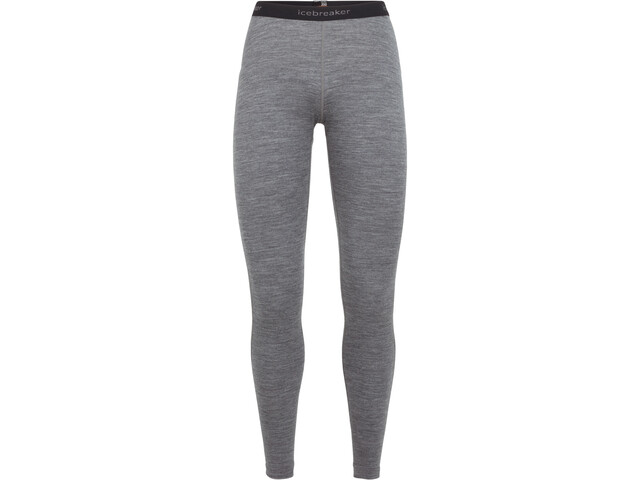 Icebreaker 200 Oasis Leggings Dame gritstone heather
